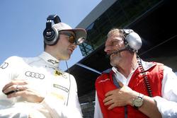 Jamie Green, Audi Sport Team Rosberg, Audi RS 5 DTM mit seinem Ingenieur