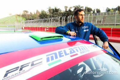 Nicholas Comito Viola, Melatini Racing, l'annuncio