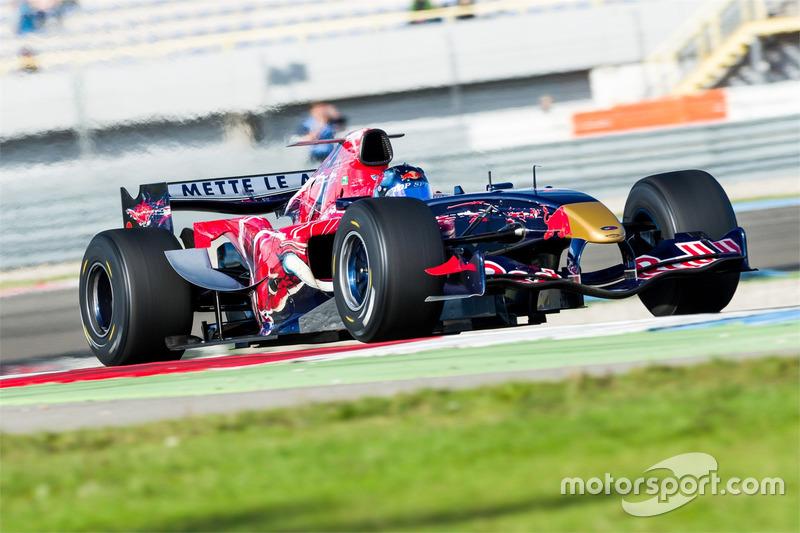 Toro Rosso op de baan