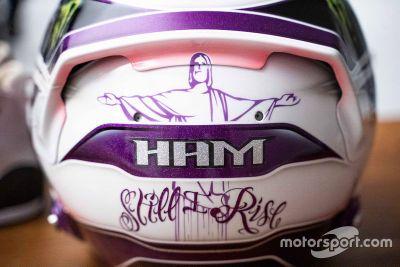 Lewis Hamilton kask tasarımı