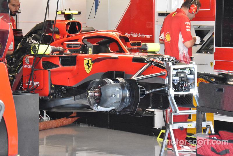 Ferrari: SF71H in alestimento nel box