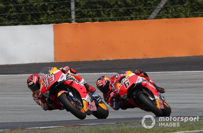 Марк Маркес, Repsol Honda Team, Штефан Брадль