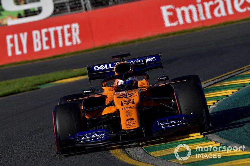 Ausfall: Carlos Sainz Jr., McLaren MCL34