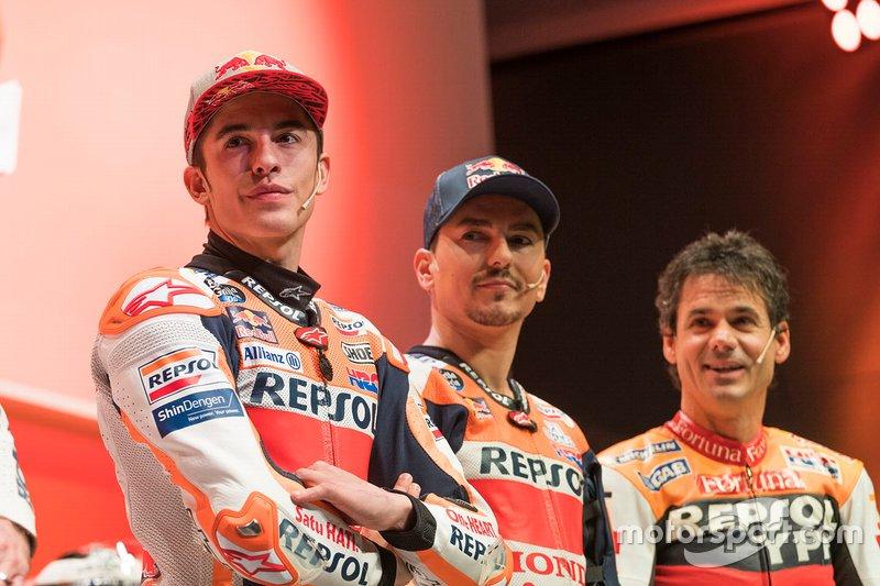 Алекс Крівіль, Марк Маркес та Хорхе Лоренсо, Repsol Honda Team