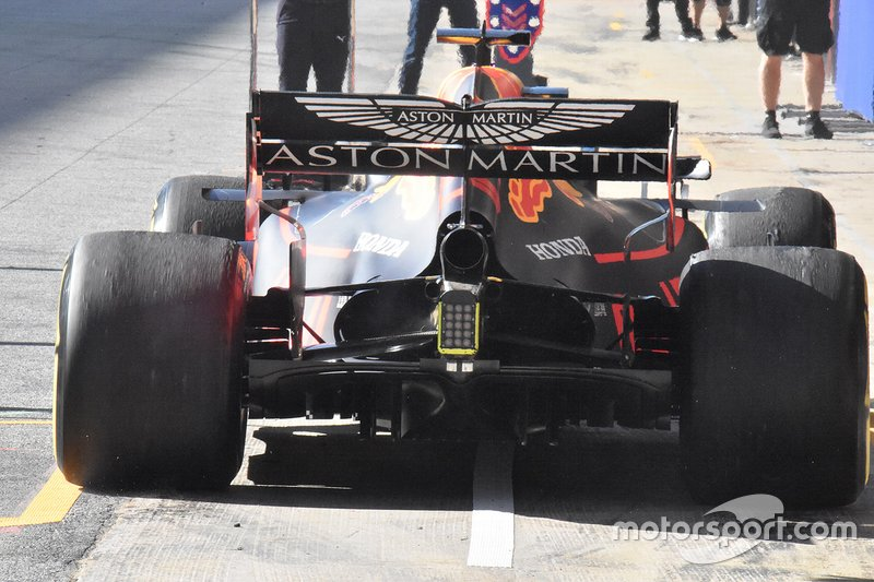 Red Bull Racing RB15 detalle técnico