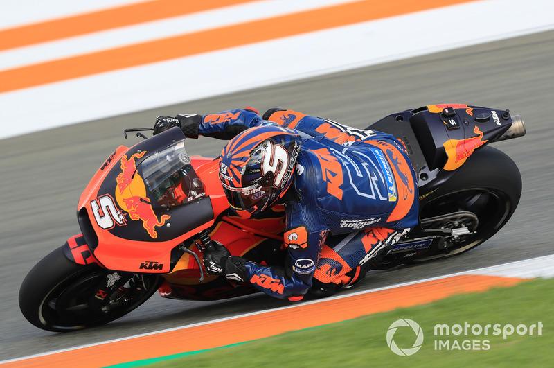 Johann Zarco (Red Bull KTM Factory Racing) a fait ses débuts dans sa nouvelle équipe