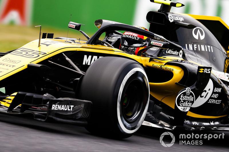 13. Carlos Sainz Jr., Renault Sport F1 Team R.S. 18