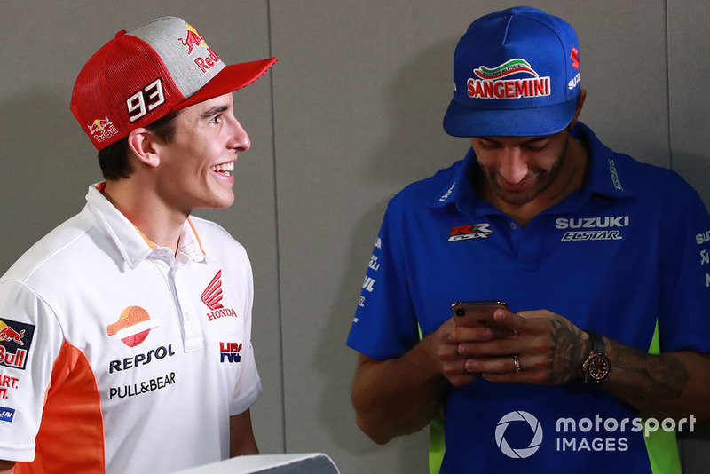 Марк Маркес, Repsol Honda Team, Андреа Янноне, Team Suzuki MotoGP