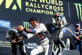 Johan Kristoffersson, PSRX Volkswagen Sweden, Mattias Ekström, EKS Audi Sport