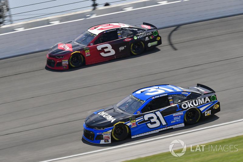 Ryan Newman, Richard Childress Racing, Chevrolet Camaro, Austin Dillon, Richard Childress Racing, Chevrolet Camaro Dow Intellifresh