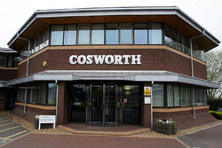 L'usine Cosworth à Northampton