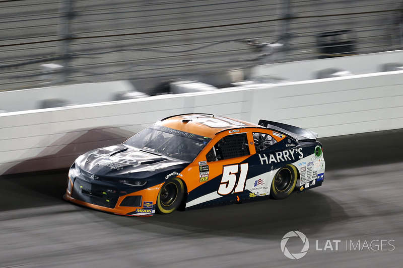 29. Justin Marks, No. 51 Rick Ware Racing Chevrolet Camaro