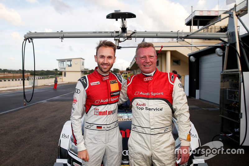 Roman Wittemeier, Audi RS 5 DTM with René Rast, Audi Sport Team Rosberg