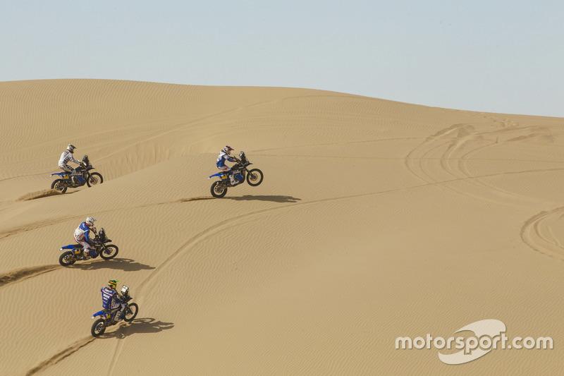 Adrien Van Beveren, Xavier de Soultrait, Franco Caimi, Rodney Faggotter, Yamaha Official Rally Team