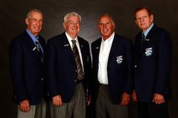 Ned Jarrett, Bobby Allison, David Pearson und Bud Moore