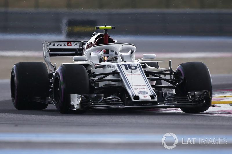 8: Charles Leclerc, Sauber C37, 1'32.635