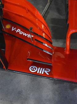Ferrari SF71H front wing detail