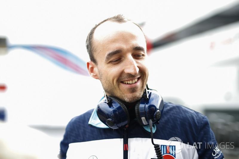 Robert Kubica, Williams, test ve yedek pilotu