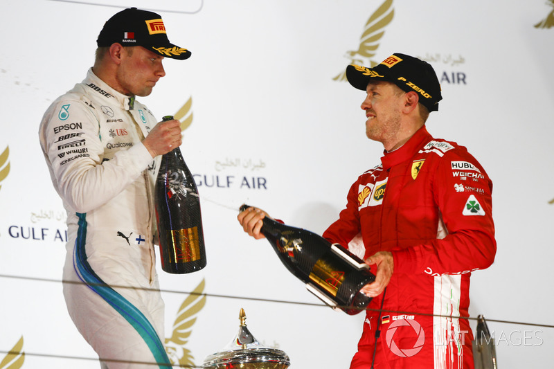GP de Bahrein: otra más para Ferrari, problemas en Mercedes