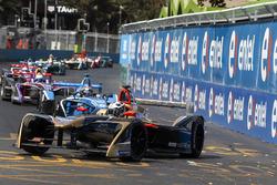 Andre Lotterer, Techeetah Sébastien Buemi, Renault e.Dams andSam Bird, DS Virgin Racing