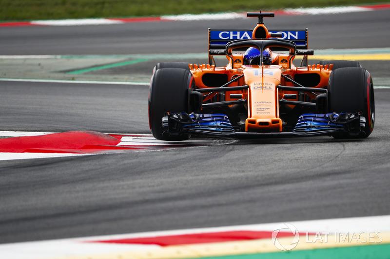 8. Fernando Alonso, McLaren MCL33