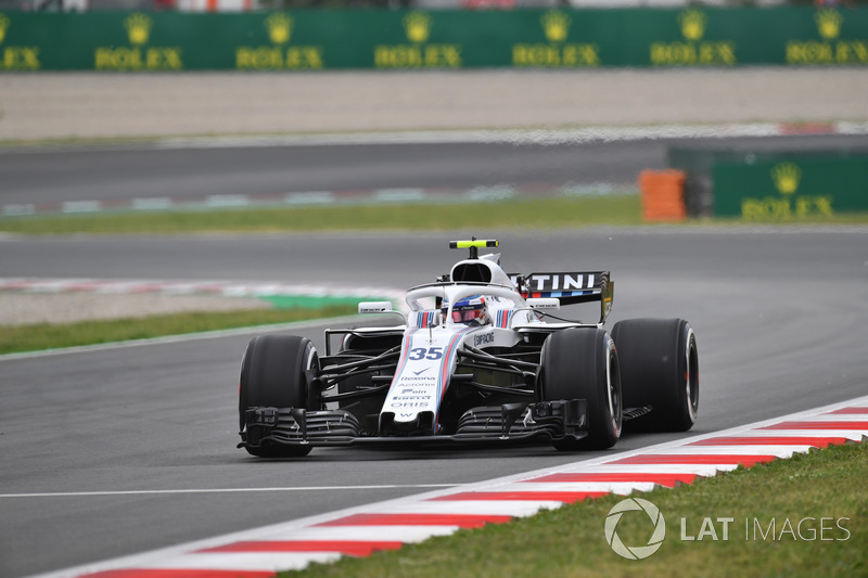 18. Sergey Sirotkin, Williams FW41*