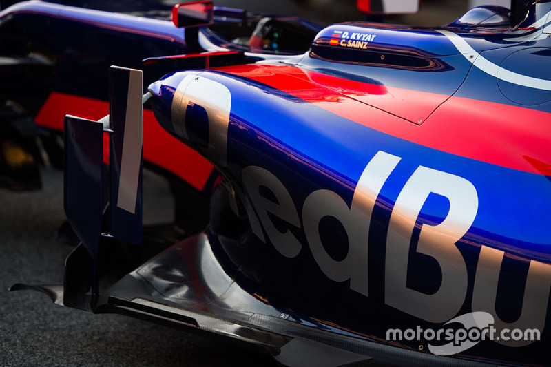 Detalle Scuderia Toro Rosso STR12