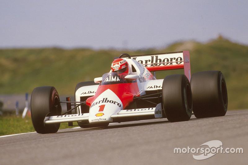 Niki Lauda, McLaren MP4/2B TAG Porsche (1985)