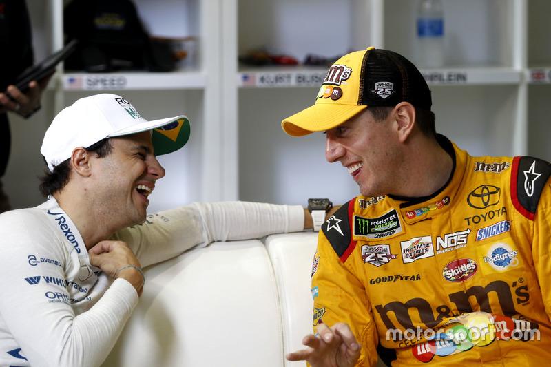 Felipe Massa y Kyle Busch