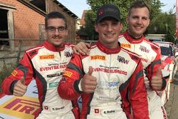 Rolf Reding, Lukas Eugster, Benjamin Devaud, podium