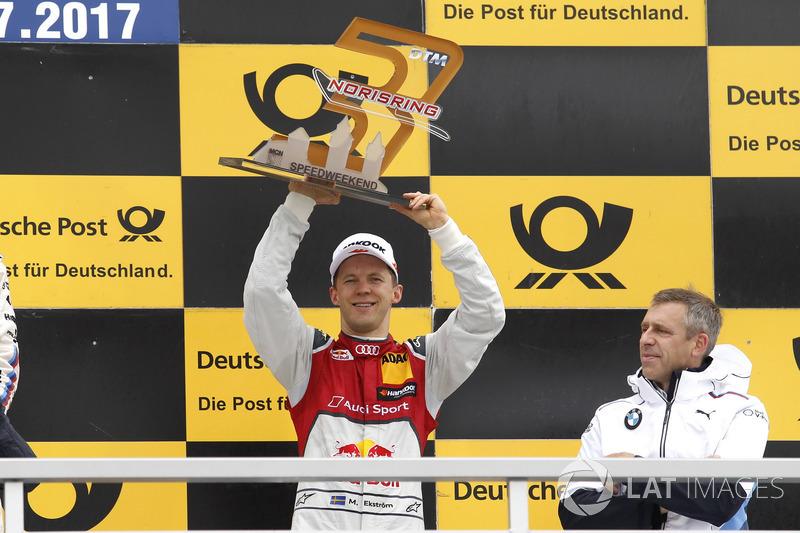 Подіум: Маттіас Екстрьом, Audi Sport Team Abt Sportsline, Audi A5 DTM