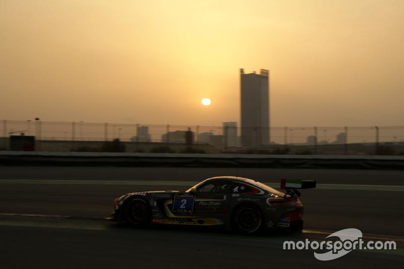 #2 Black Falcon, Mercedes AMG GT3: Khaled Al Qubaisi, Jeroen Bleekemolen, Patrick Assenheimer, Manuel Metzger