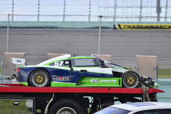 #57 FP2 Saker driven by James Cunning & Dan Moon of Saker Racing