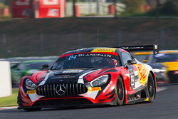 #89 Akka ASP Mercedes AMG GT3: Ludovic Badey, Daniele Perfetti, Nico Bastian