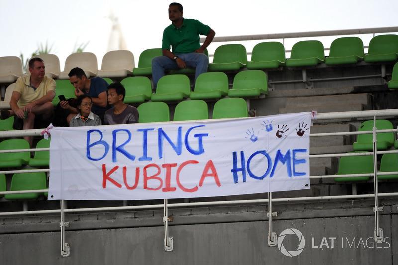 E outros que gostariam de ver o polonês Robert Kubica de volta.