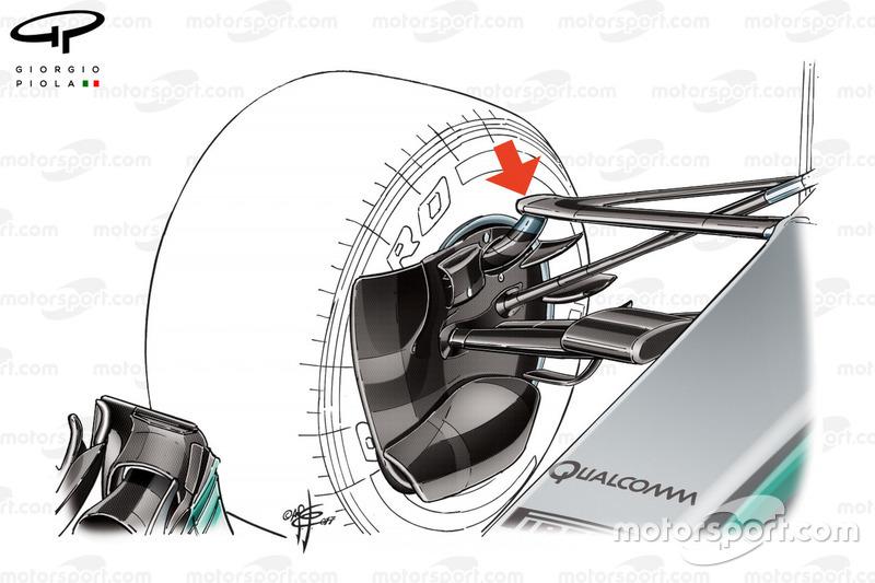 Передня підвіска Mercedes W08
