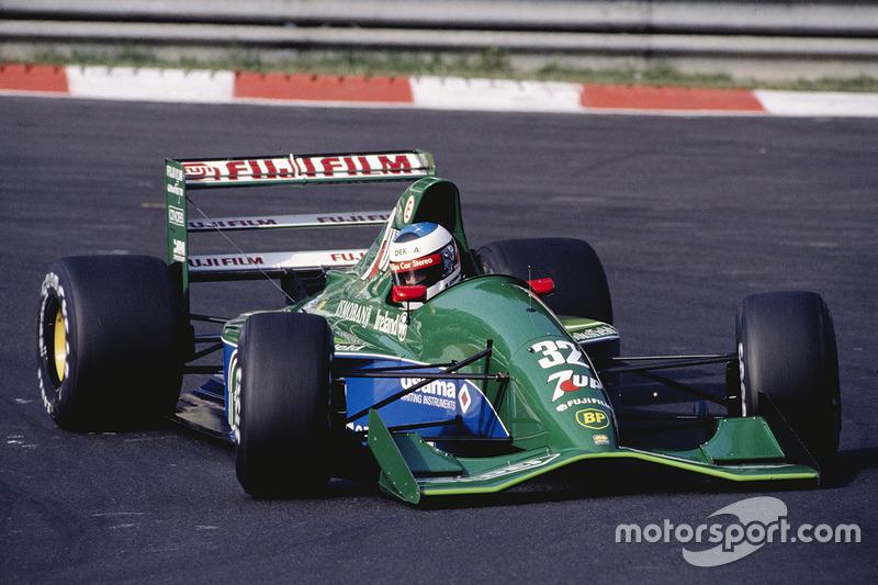 GP Belgia 1991 juga terkenal karena menjadi penampilan debut legenda Michael Schumacher di F1 bersama Jordan.