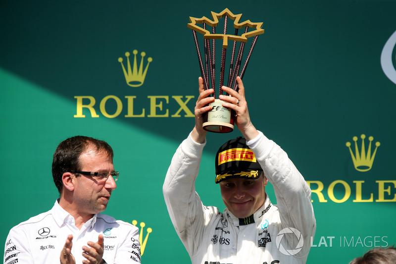 2. Valtteri Bottas, Mercedes AMG F1
