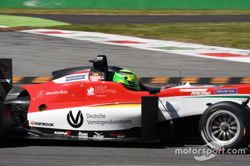 Mick Schumacher, Prema Powerteam, Dallara F317 – Mercedes-Benz