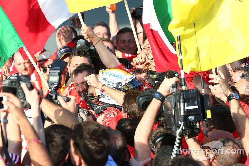 Cuarta victoria de Vettel con la Scuderia Ferrari