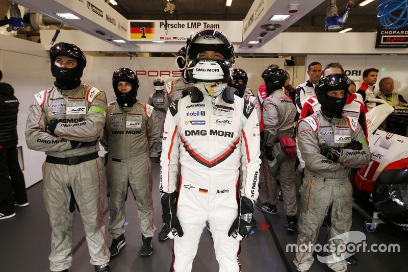 Andre Lotterer, Porsche Team