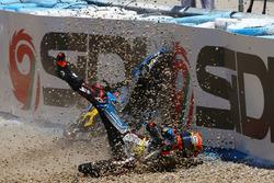 Tito Rabat, Estrella Galicia 0,0 Marc VDS caída
