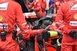 Motor im Auto von Kimi Raikkonen, Ferrari SF70H
