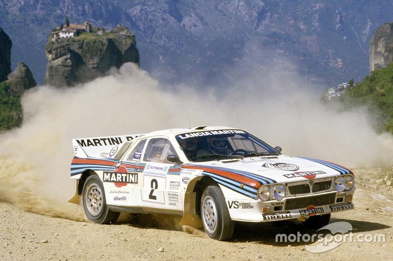 Markku Alen, Ilkka Kivimaki, Lancia Rally 037