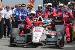 1. Sébastien Bourdais, Dale Coyne Racing, Honda