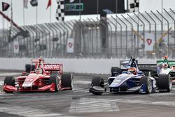Matheus Leist, Carlin; Shelby Blackstock, Belardi Auto Racing