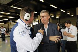 David Croft, Ross Brawn, Managing Director of Motorsports, FOM