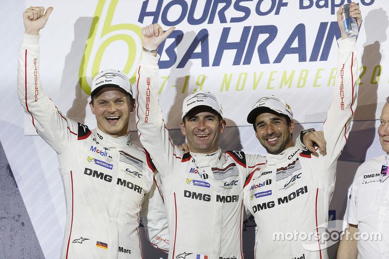 LMP1 World Champion #2 Porsche Team Porsche 919 Hybrid: Romain Dumas, Neel Jani, Marc Lieb