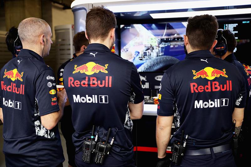 Red Bull Racing, Box