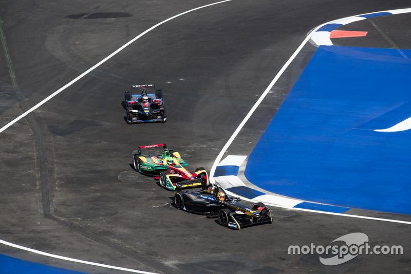 Esteban Gutiérrez, Techeetah; Lucas di Grassi, ABT Schaeffler Audi Sport